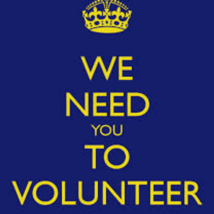 CLUB APPEALING for VOLUNTEERS to HELP prepare pitch for TODAY's game!!