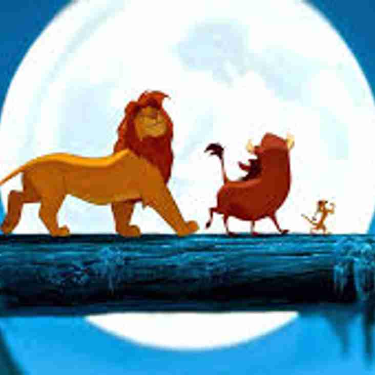 """THE LION KING to arrive """"under the stars"""" at Chasetown Football Club"""
