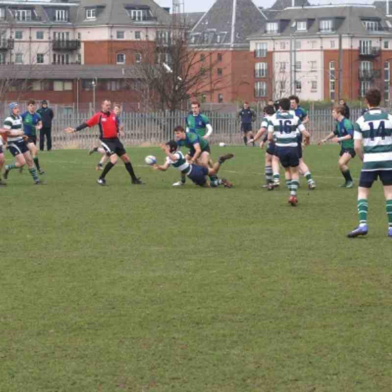 Boroughmuir v Dunbar U18 3rd March 2012