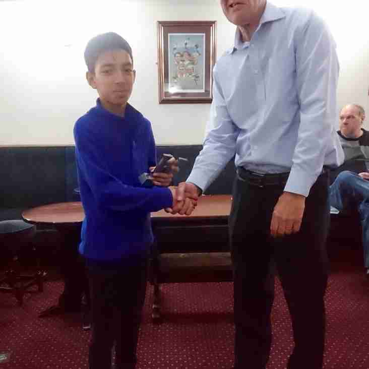 Leeds Junior Cricket League Awards