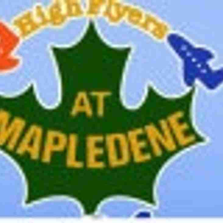 MAPLEDENE PREMIER KINGS!