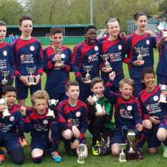 Congratulations to Saints U13's Cup Winner's!