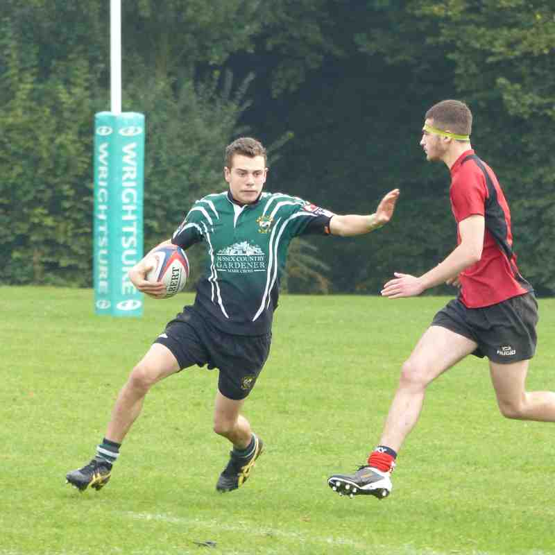 U16 V AYLESFORD FRIENDLY 18.10.15