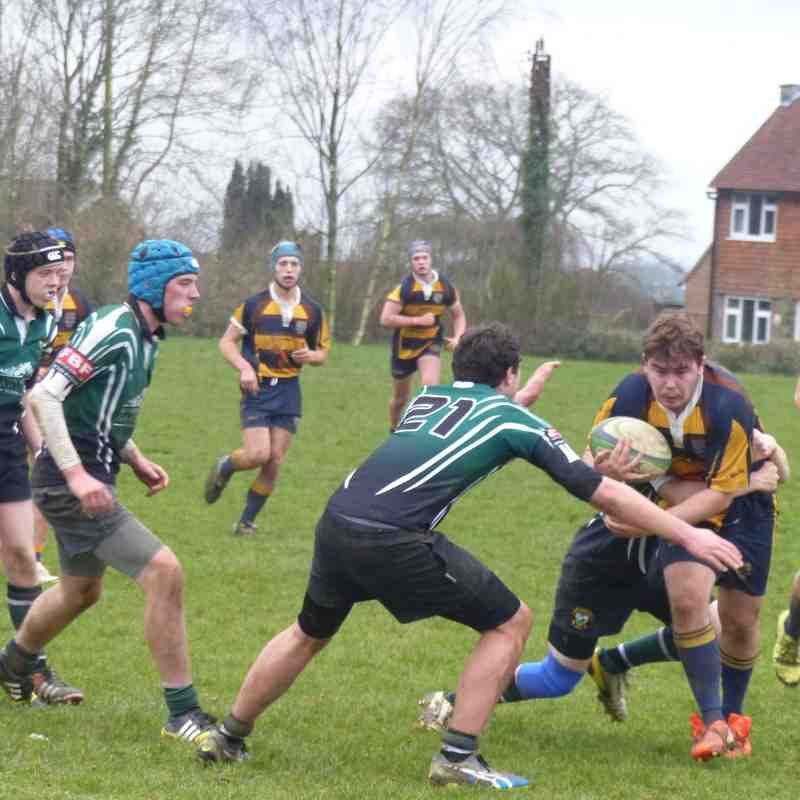 U16 v WORTHING Friendly 13.12.15