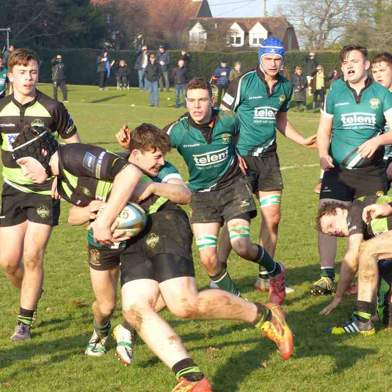 Colts v Guernsey LEAGUE 22.01.17