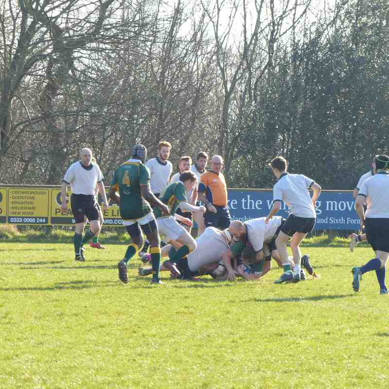 2nd XV v Ditchling 18.02.17