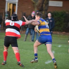 2nd XV v Saracens Amateurs 25/11/17