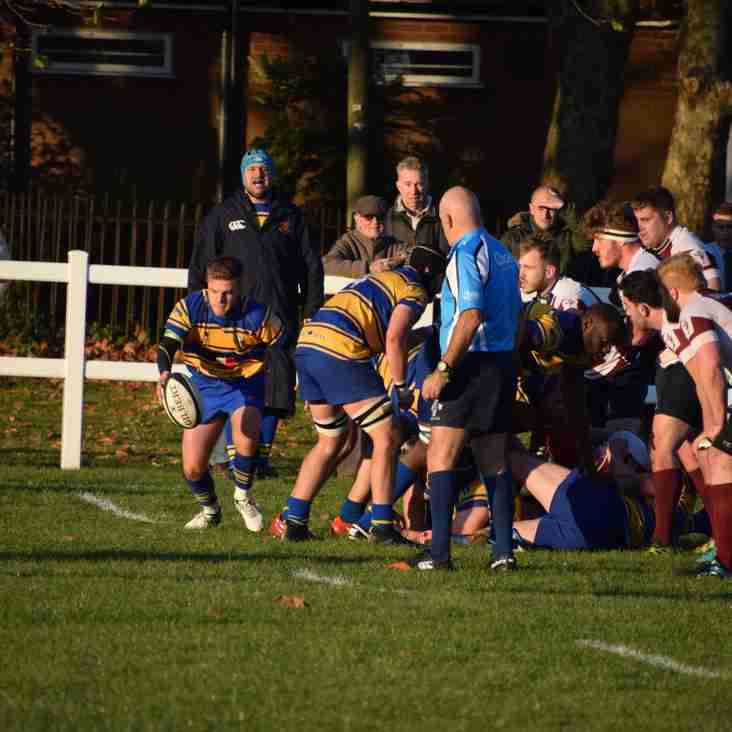FIRSTS SUFFER NARROW LOSS AND SECONDS WIN