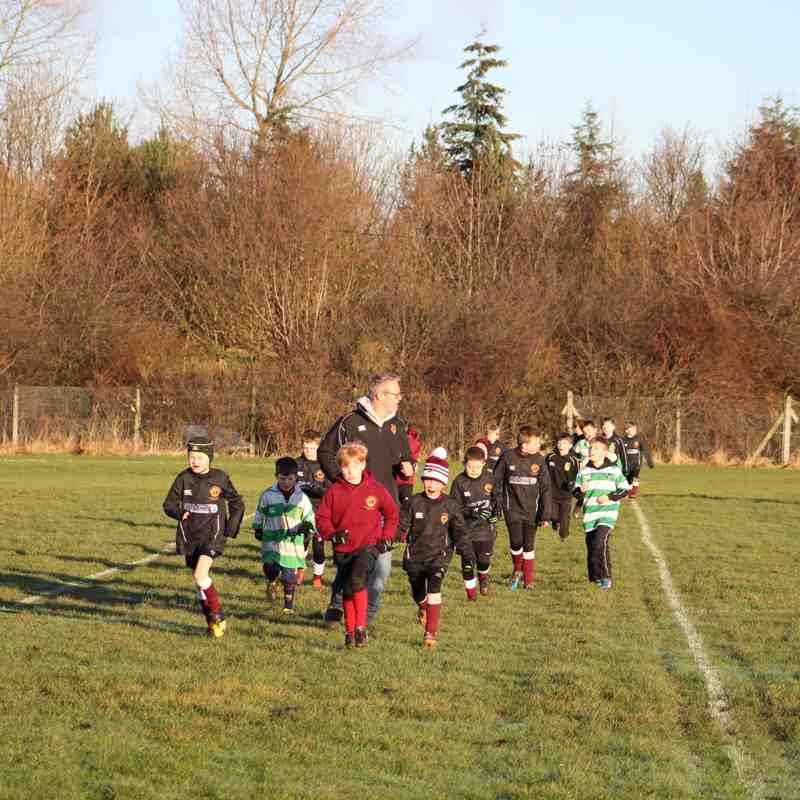 U9's At Gosforth RFC January 17