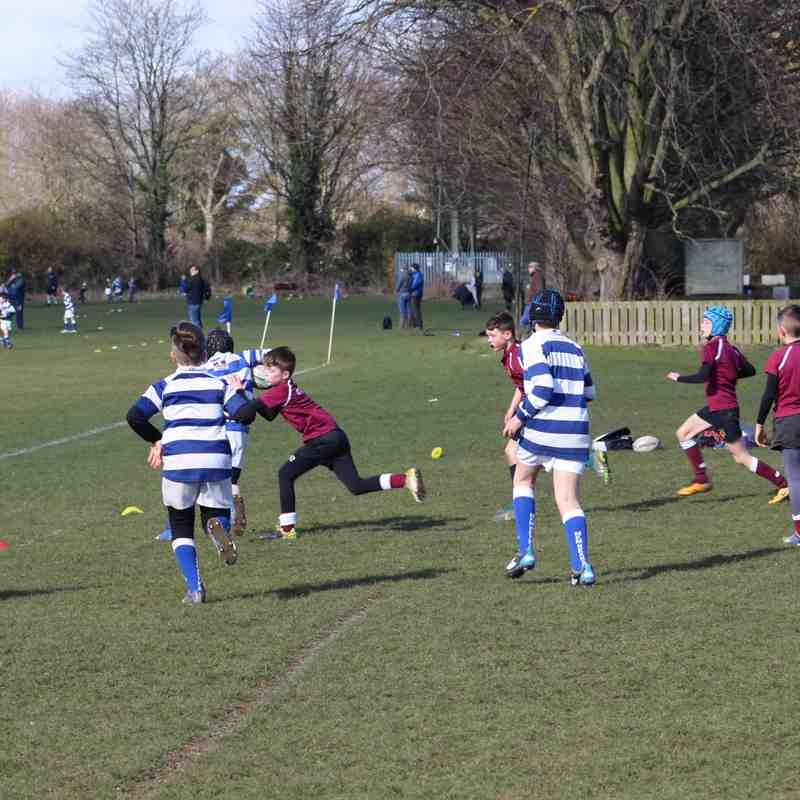 U10's away to Tynedale RFC March 18