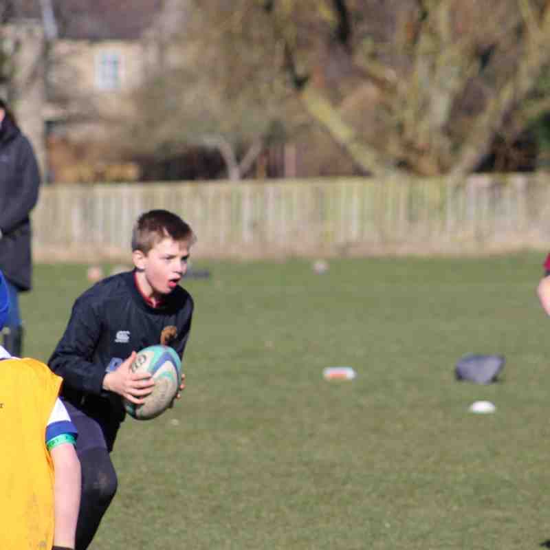U10's away to Tynedale RFC March 18