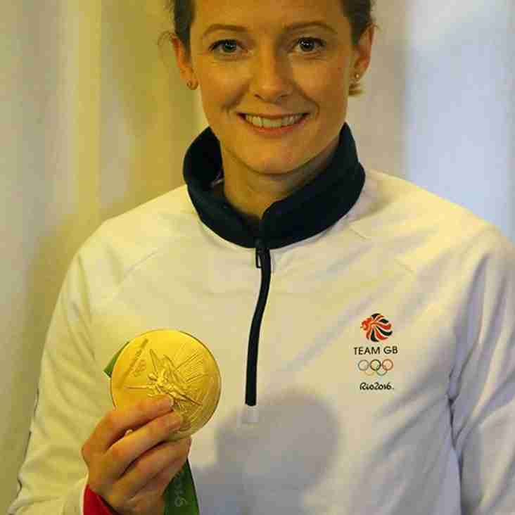 Rio 2016 Gold Medallist Helen Richardson-Walsh MBE visits AHC 15.1.2017