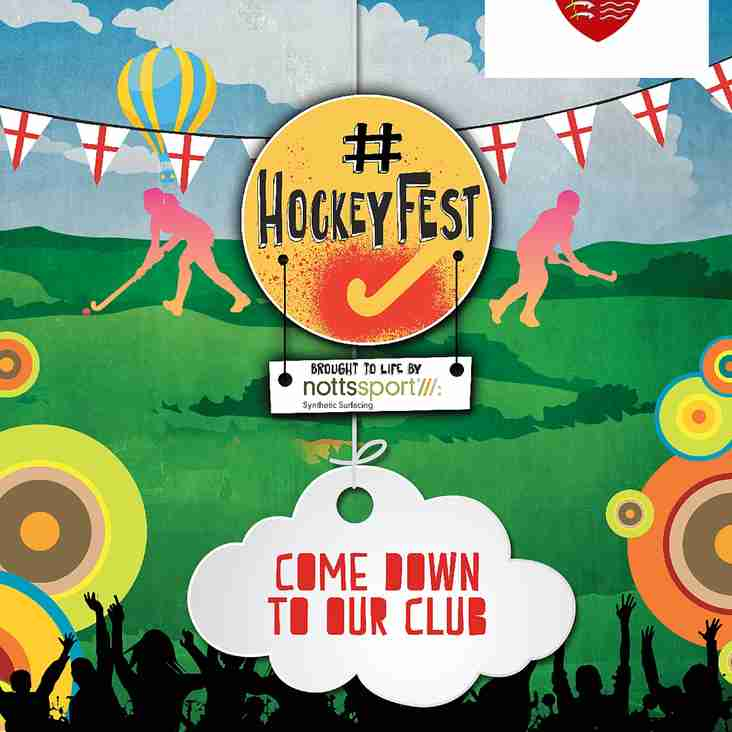 Club Day & Hockey Fest Saturday 1st September 2018