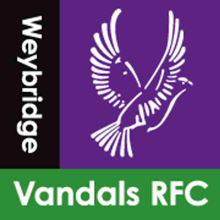 Weybridge Vandals RFC - AGM 2018