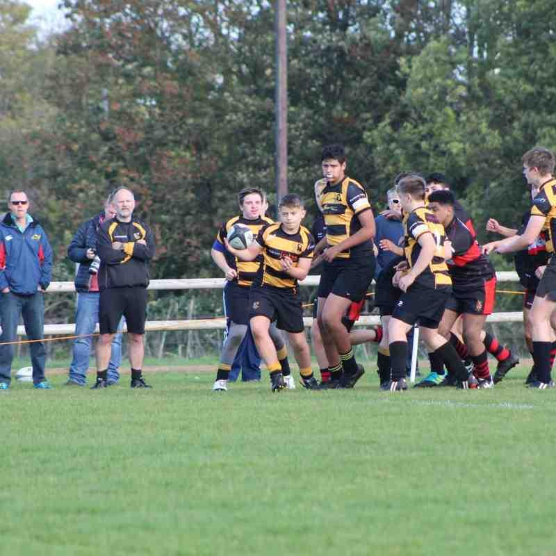 U16's v Avonmouth (A) 21.10.18