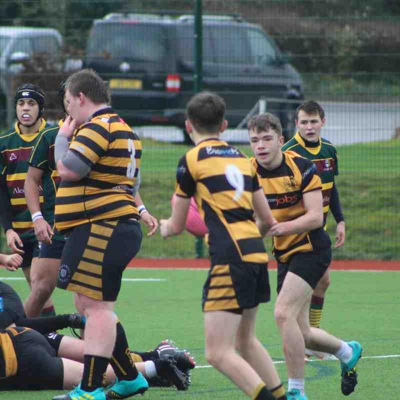 U16's v Old Bristolians (A) 02.12.18