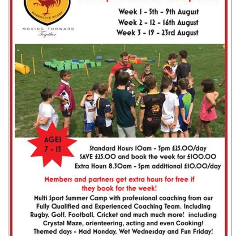 Multi Sport Summer Camp