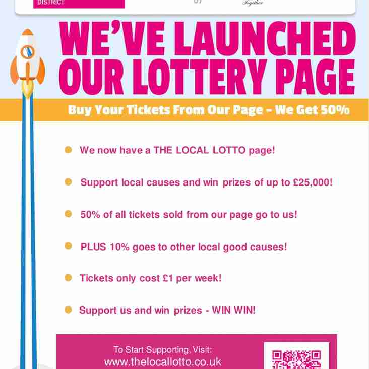 LAUNCHING THE LOCAL LOTTO