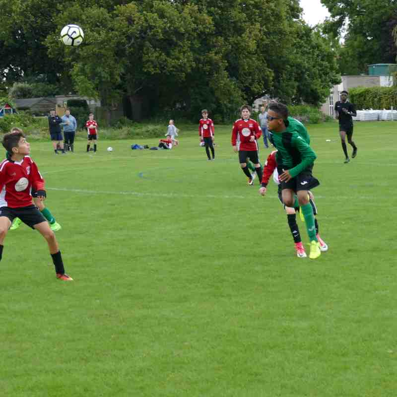 Under 12 youth - 10th September 2017
