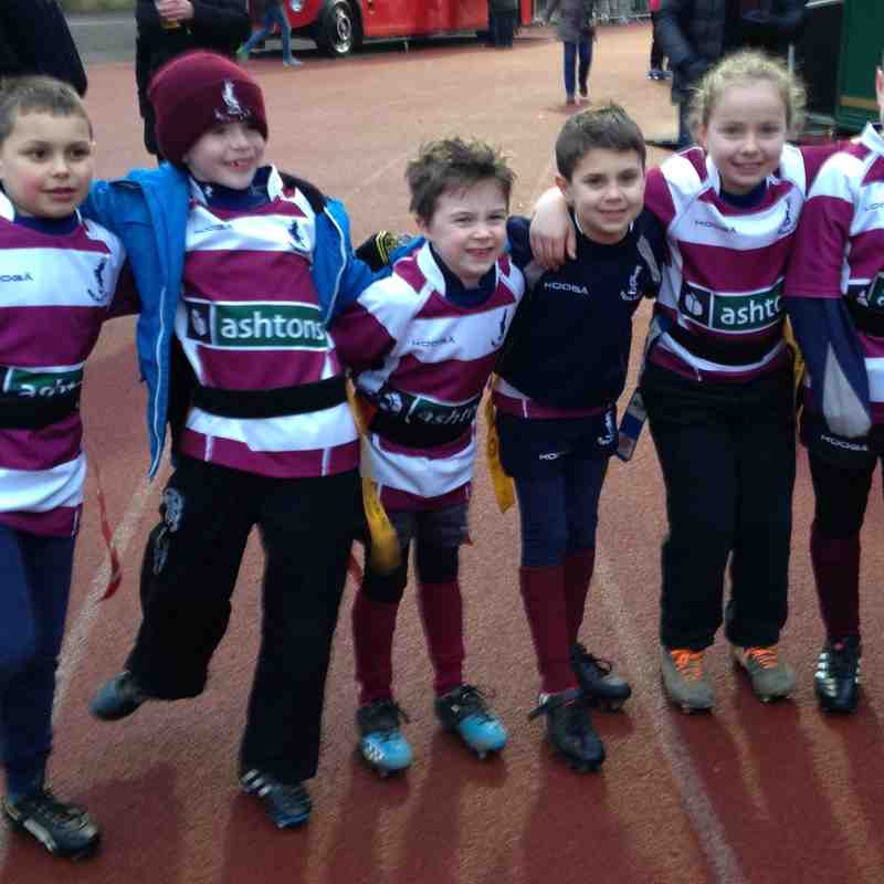 Welwyn U8 at Saracens