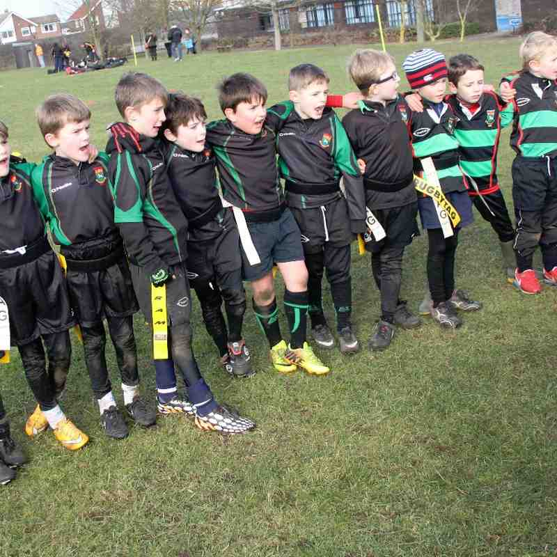 U8's Newmarket vs. Wendons Ambo 8th Feb