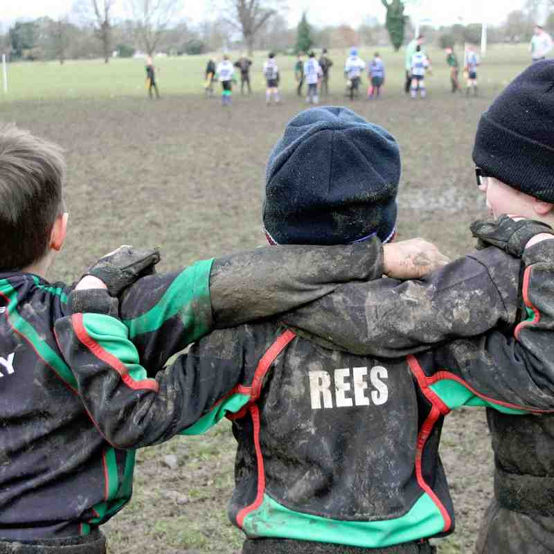 U8's Wisbech / Boston vs. Newmarket 22nd Feb