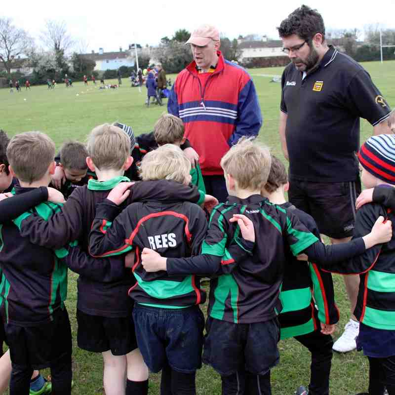 U8's Newmarket Training 22nd Mar