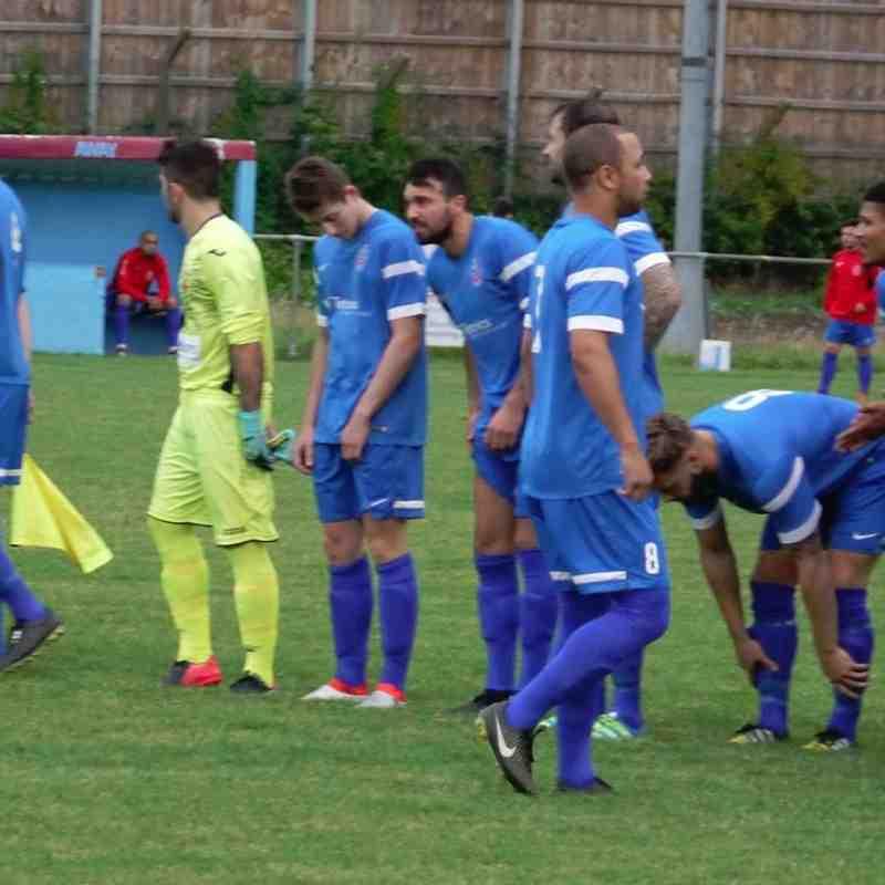 First Team v Tuffley Rovers - Tue  2 Aug 2016