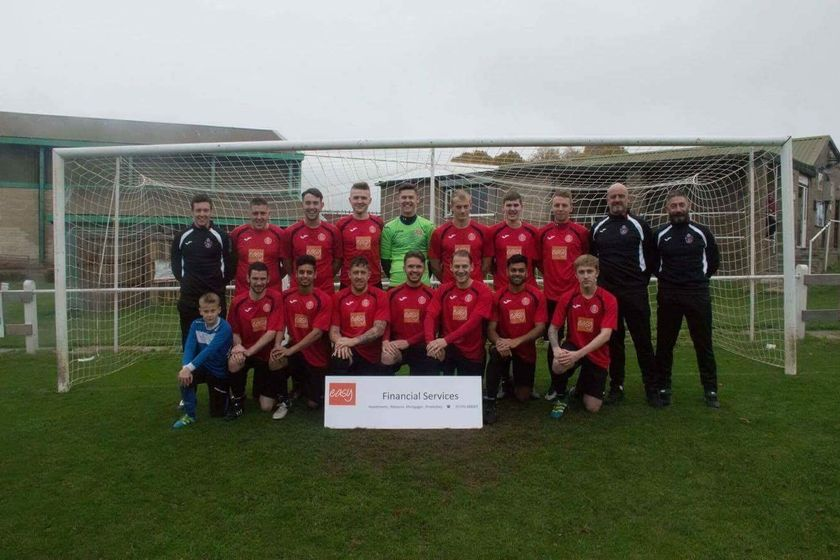 Reserves beat Easington Sports Res' 1 - 5