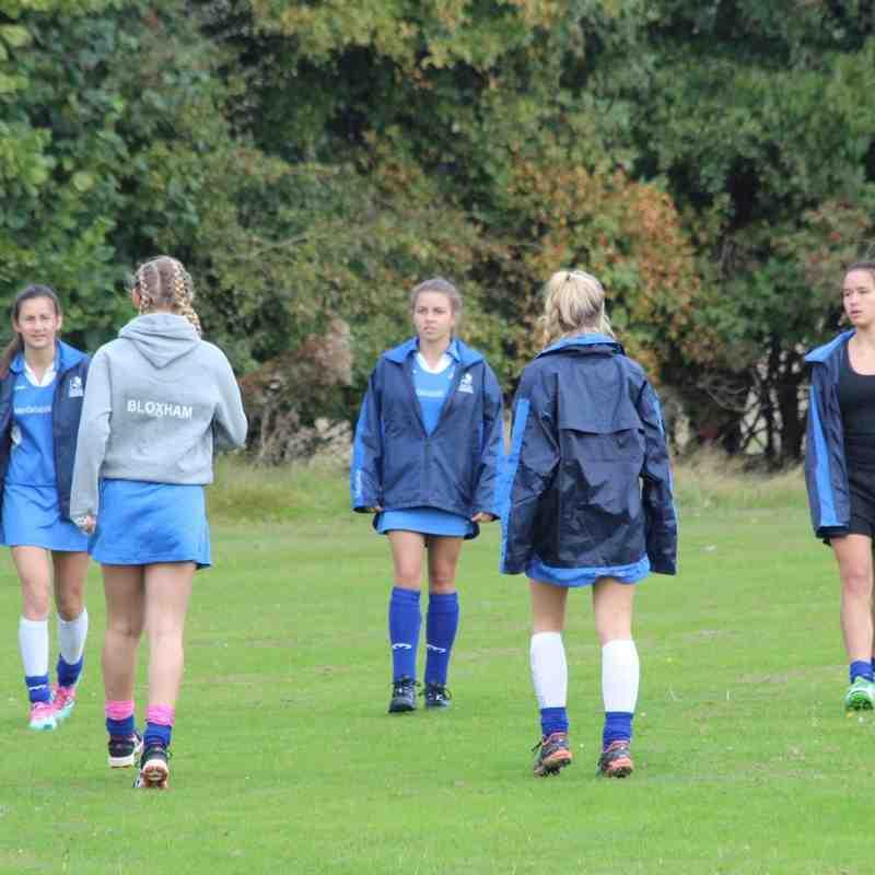 RHC Girls U16 preforming at Tier 1