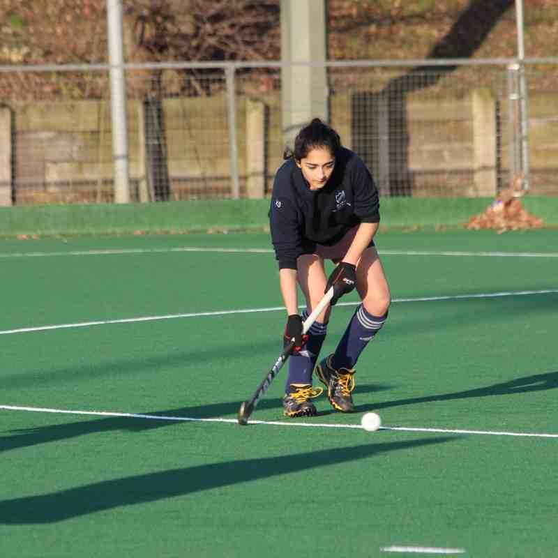 RHC Girls U16 vs Southgate 14 Dec 2014