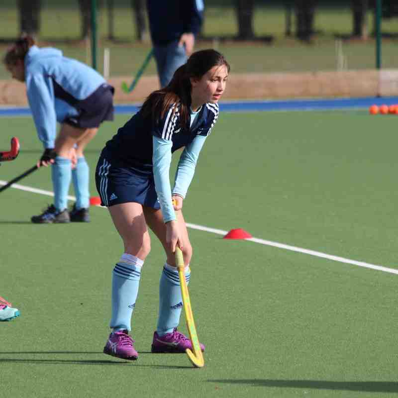RHC Girls U16 vs Clifton 1 March 2015 Regionals won 5-0!