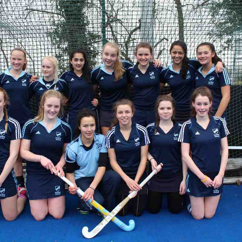 Girls U16 vs Maidenhead 15th Feb 2015 - Won 10-0!