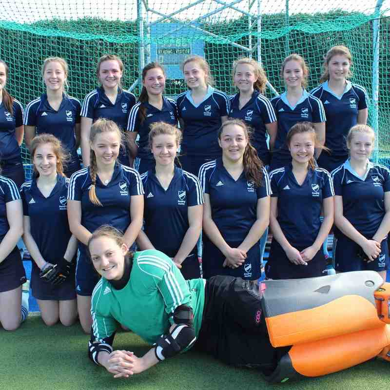 Girls U18 team photo March 2015