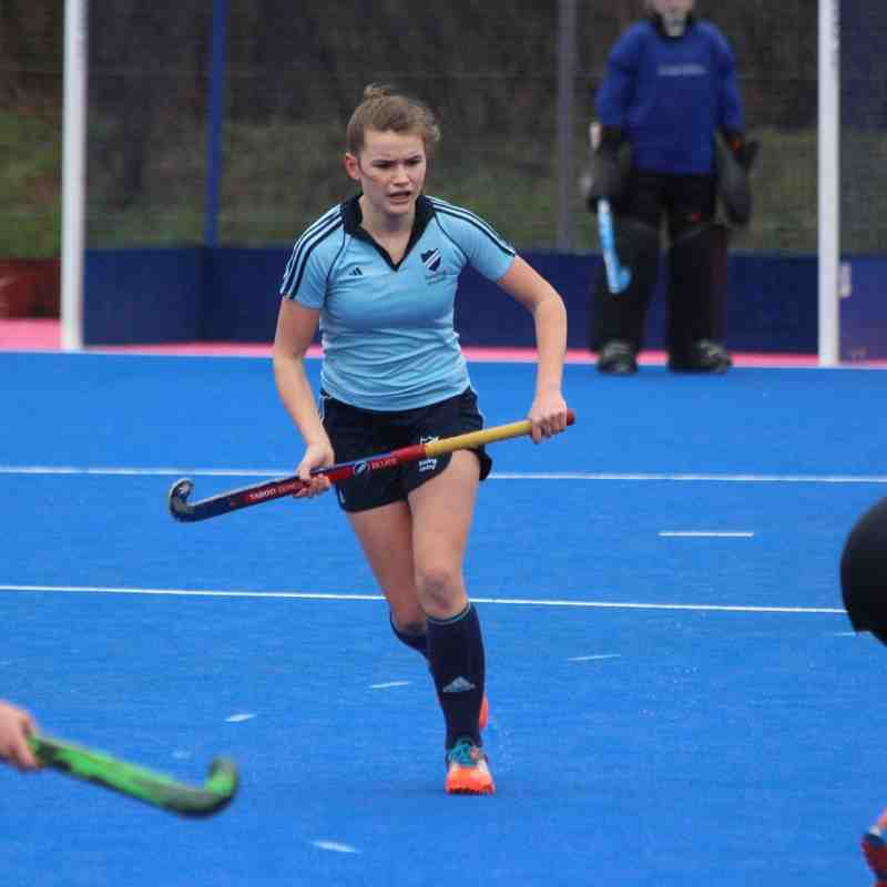 RHC Girls U16 vs Wimbledon (at Nationals) 29 March 2015 (won 1-0)
