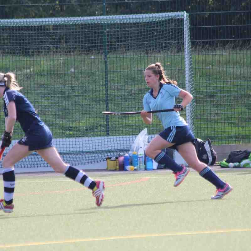RHC Girls U18 Prem vs Wycombe 4 Oct 2015 Won 4-3