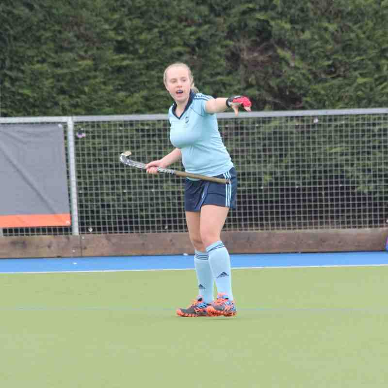 RHC Girls U18 Prem vs Oxford Hawkes 31 Jan 2016, drew 3-3