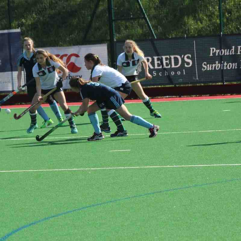 Girls U18 vs Surbiton 20 March 2016 drew 1-1