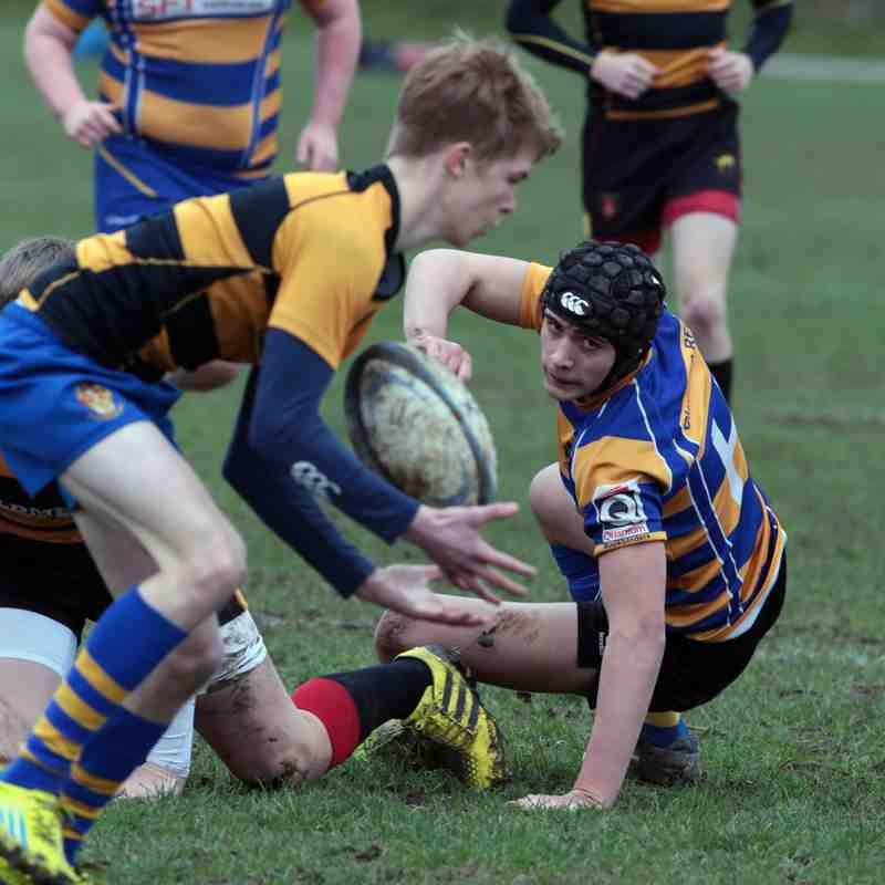 Clevedon U16s vs Thornbury