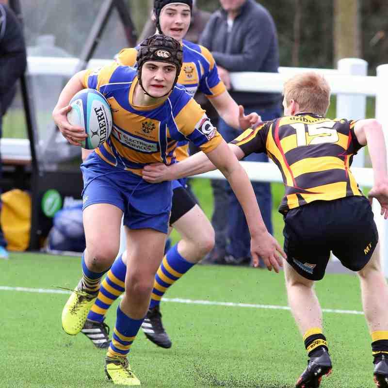 Hornets U16s vs Clevedon