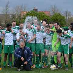 Chichester City FC Champions 2014-15