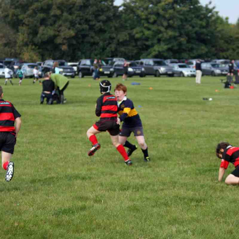 U9's at Sleaford Festival 4th Oct '15