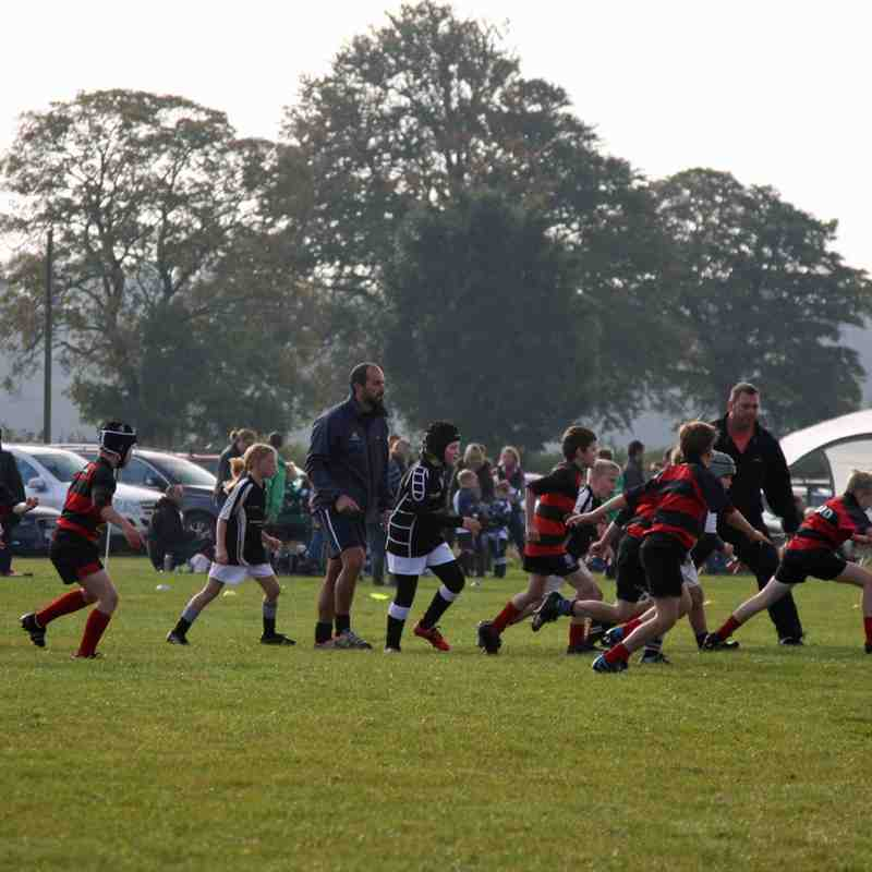 U9's at Kesteven Festival 11th Oct 2015