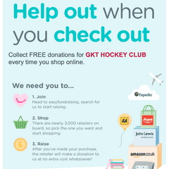 GKT HC is now funded by easyfundraising