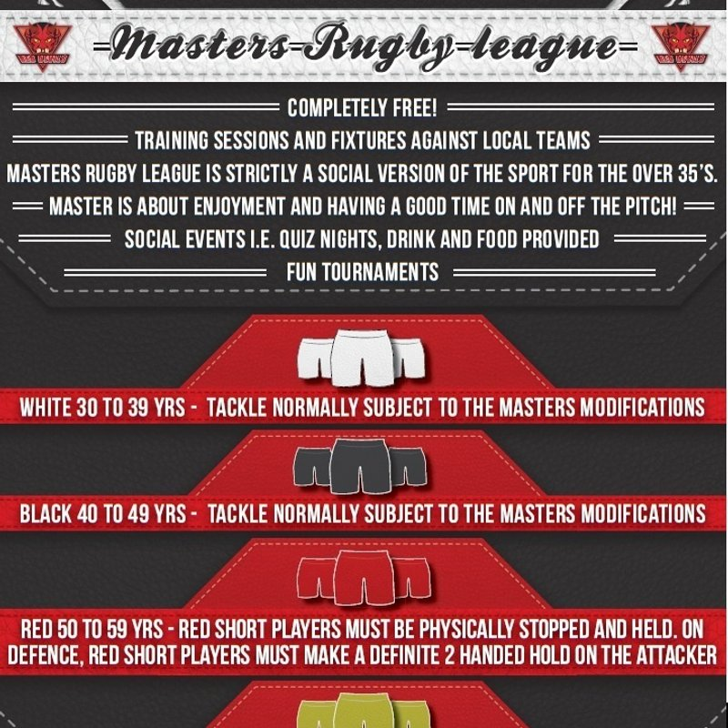 Langworthy Masters Rugby League