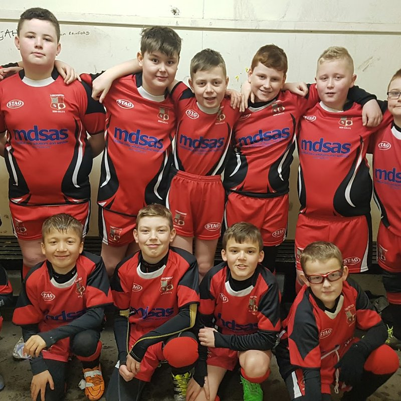 U11's lose to Salford City Roosters 20 - 18