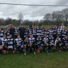 Perthshire U13s with Ten Try Win
