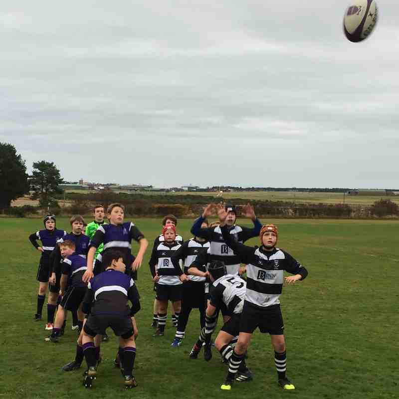 U14 Gordonstoun Away Nov 16