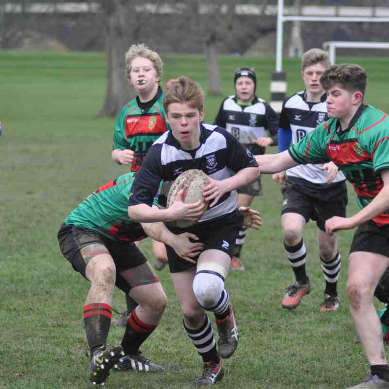U14s vs Highland 12th March 2017