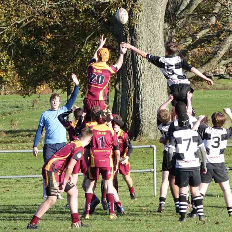 U15s vs Ellon 121117